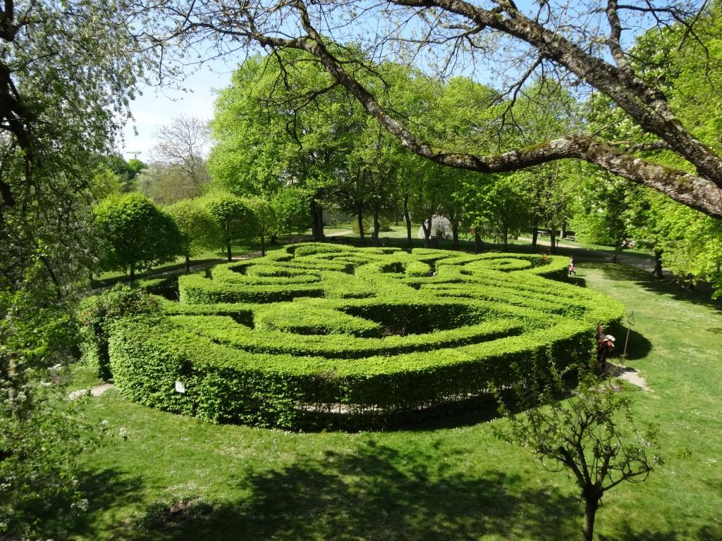 Le labyrinthe au Rivau