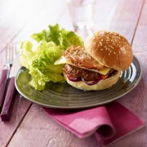 Un burger boeuf de Francine