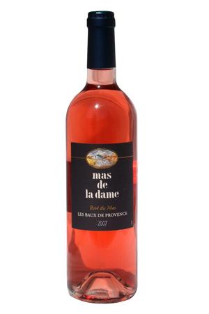 Plus bonbon anisé le Rosé du Mas de Mas de la Dame