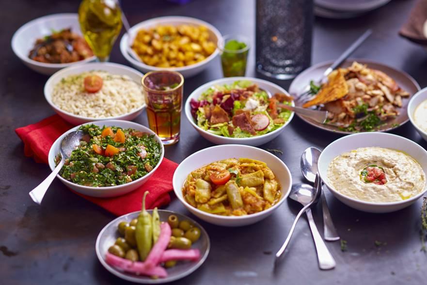 Une offre très variée chez le libanais Noura