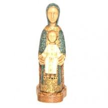 Statue de la Vierge Marie Porte du Ciel Bleu