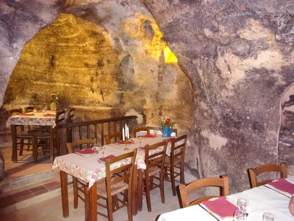 Le restaurant de l'hôtel Rocaminori pour manger des fouaces