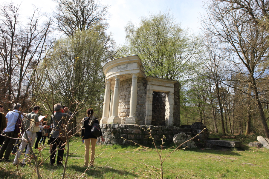 L 39 evasion des sens parc rousseau jardin des lumi res for Paysagiste anglais celebre