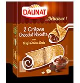 Les crêpes choco noisettes de Daunat