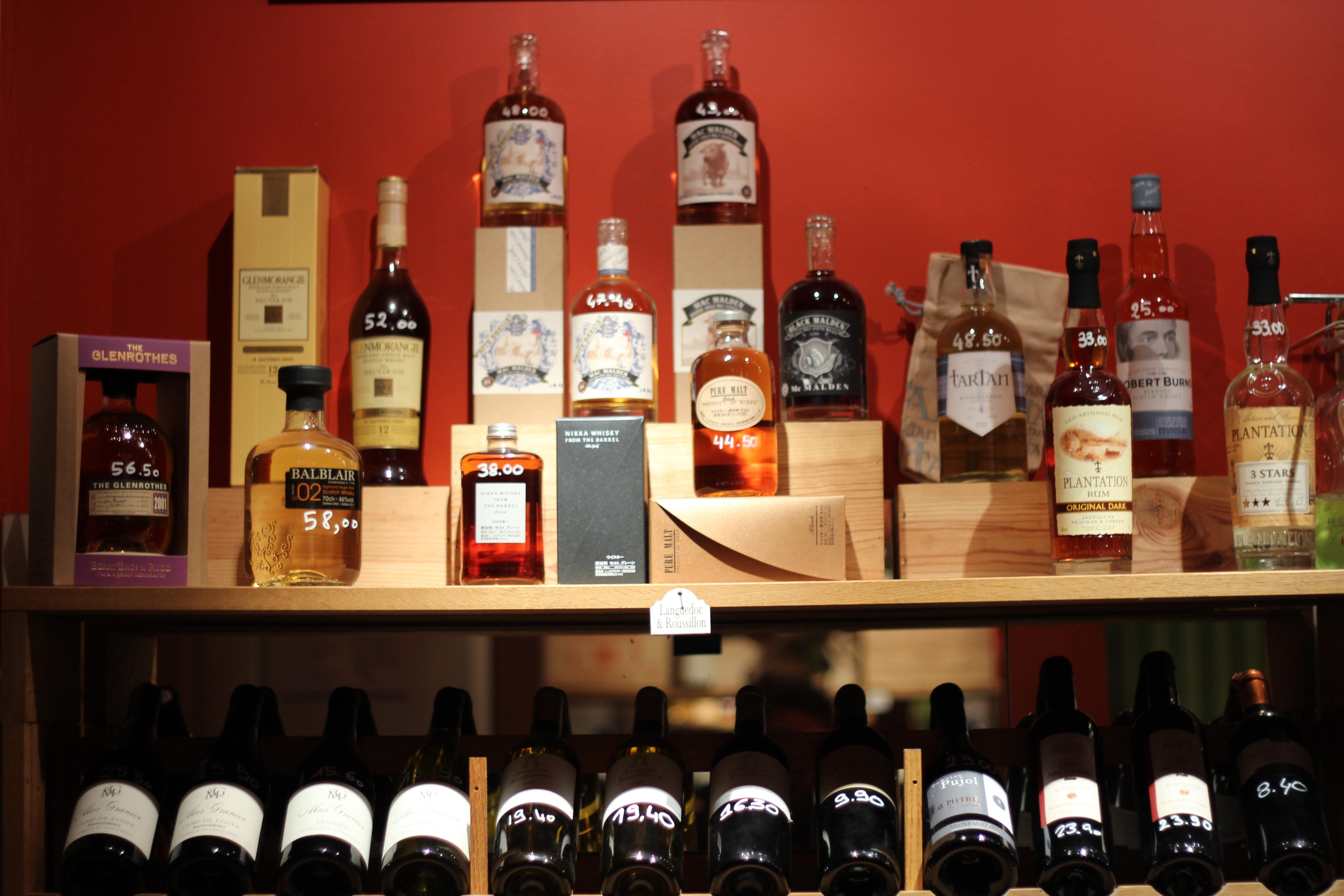 L 39 evasion des sens la bouteille sur la table - La bouteille sur la table ...