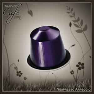 La capsule Arpeggio de Nespresso