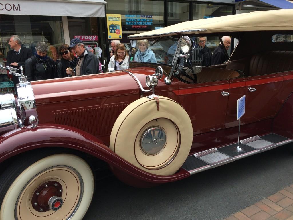 Une Packard type 526 de 1928