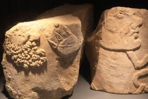 Vestiges au musée archéologique de Jublains