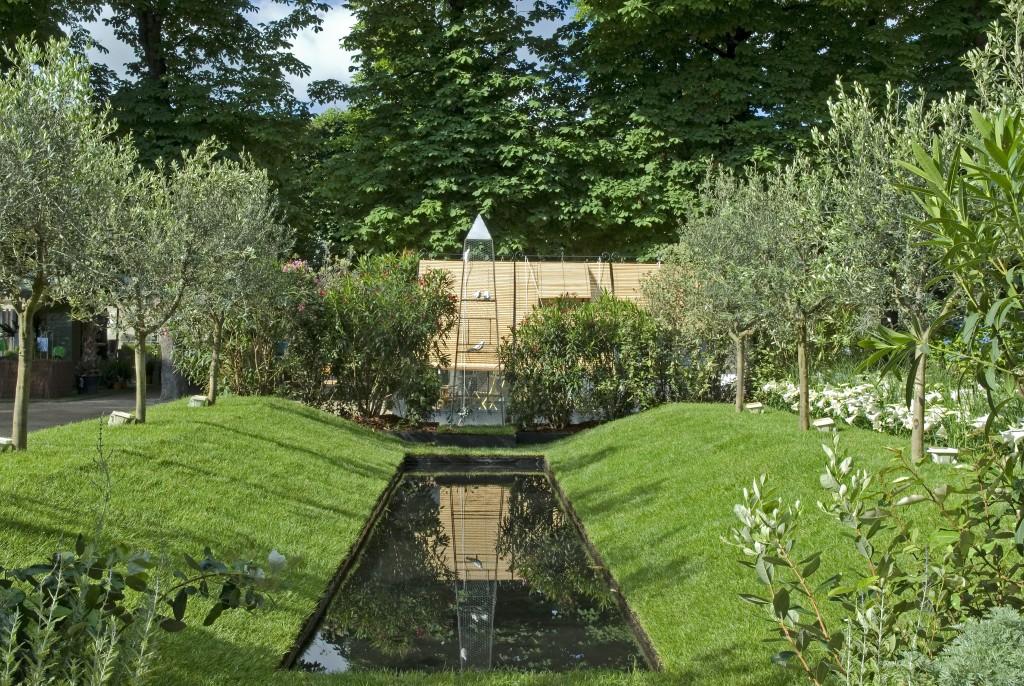 Un jardin de L Benech en 2007