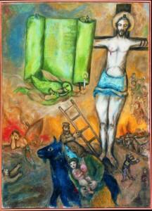 La crucifixion jaune