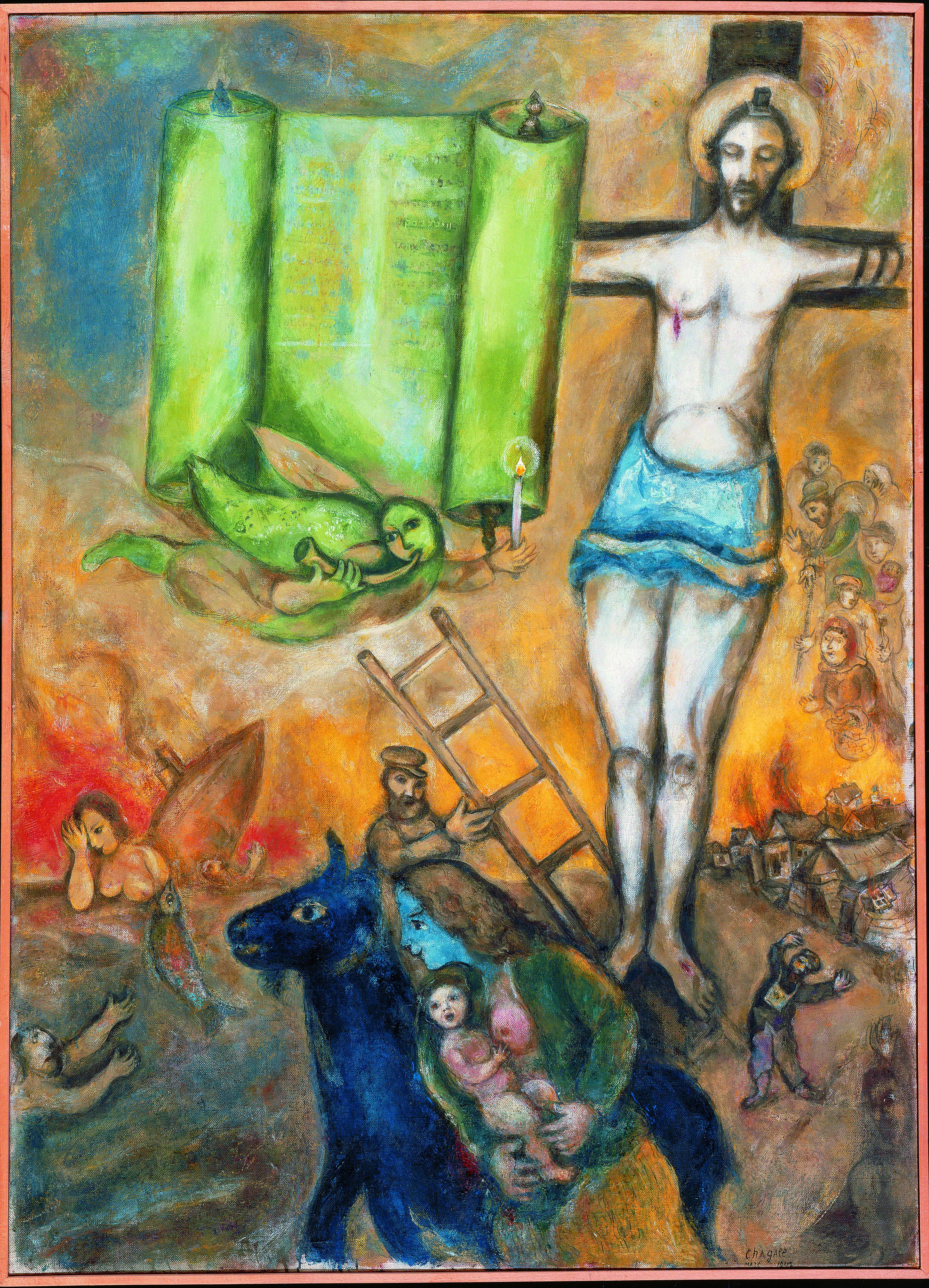 L 39 evasion des sens chagall le merveilleux for Chagall tableau