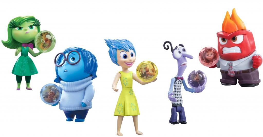 Les 5 émotions en figurine