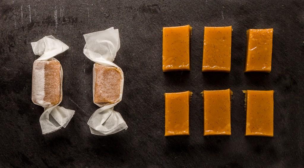 Les caramels mangue  / passion de Jacques Genin