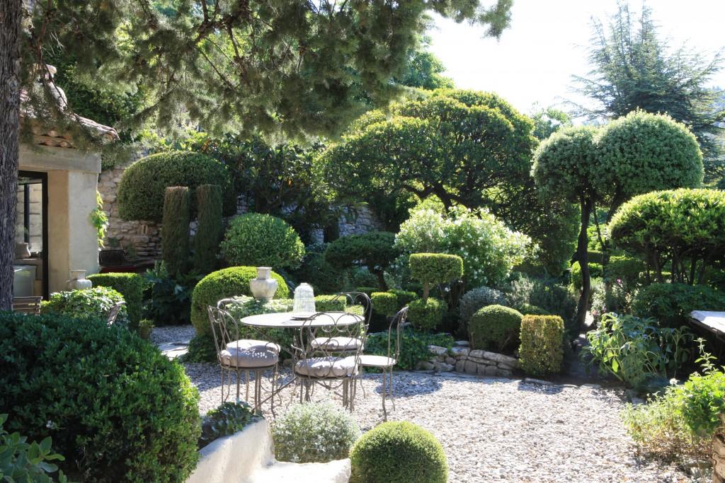 La charmante terrasse de La Louve