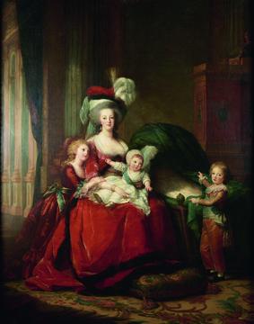 La reine et ses enfants (Versailles)
