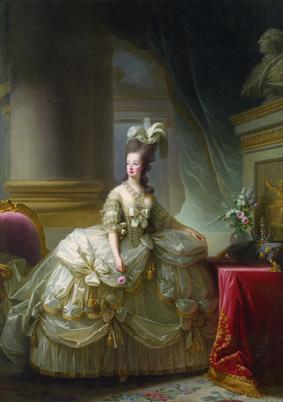 La reine Marie Antoinette en grand habit de cour (Vienne)