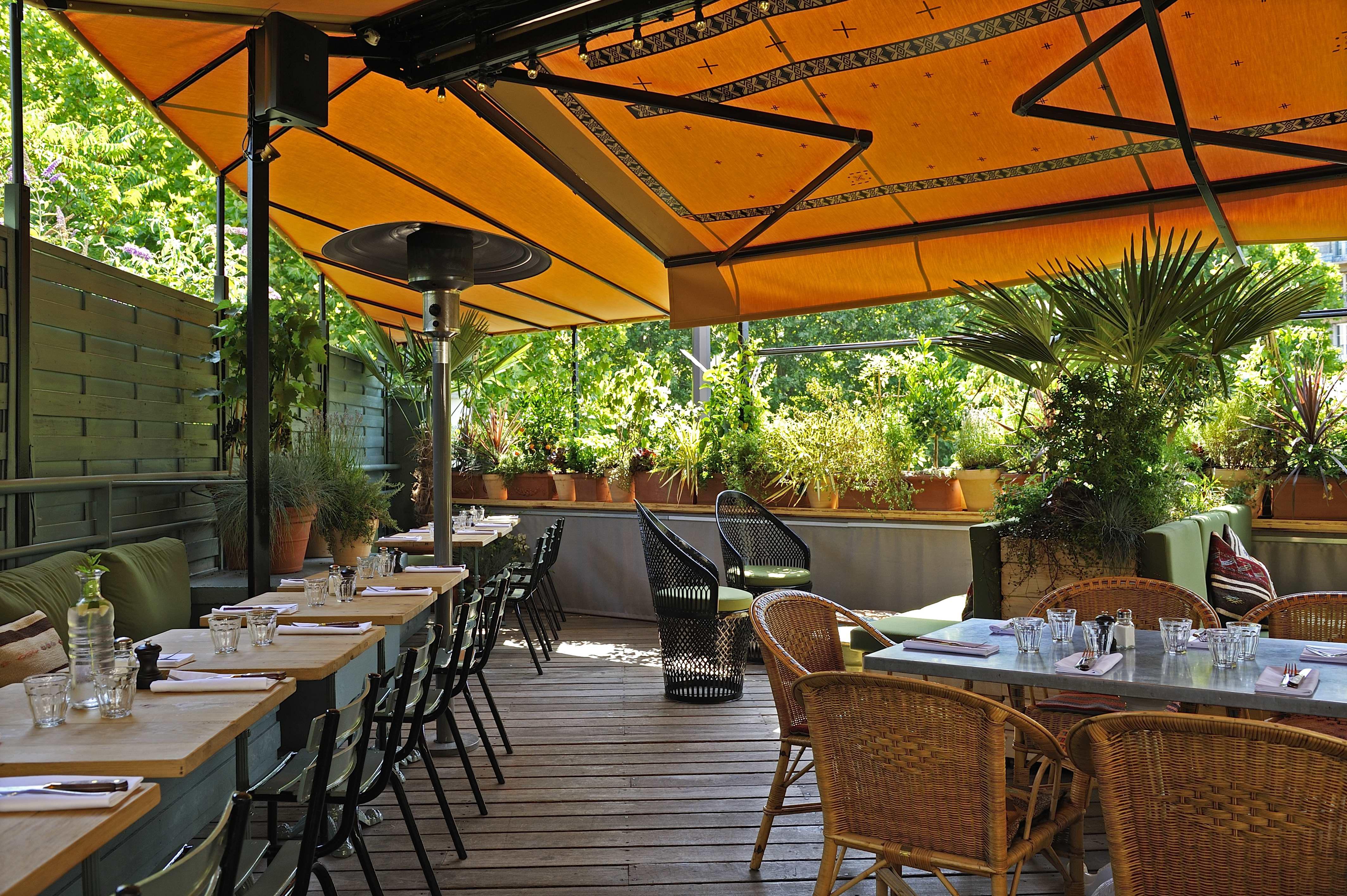 L 39 evasion des sens bbq automnal la brasserie auteuil - Photo fermer une terrasse couverte ...