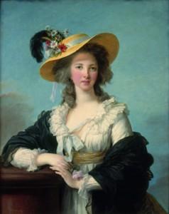 La duchesse de Polignac ( Versailles)