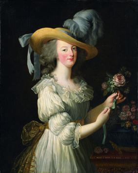 Ce tableau de Marie Antoinette en chemise a fait scandale parmi certains