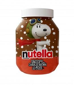 Nutella embelli par Snoopy