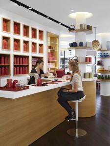 Le bar à thé de la Compagnie Française de l'Orient et de la Chine