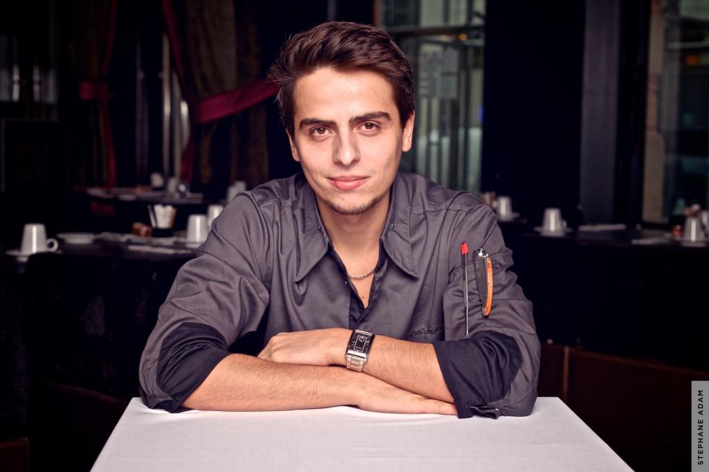 Jean Baptiste Ascione , un jeune chef de 22 ans