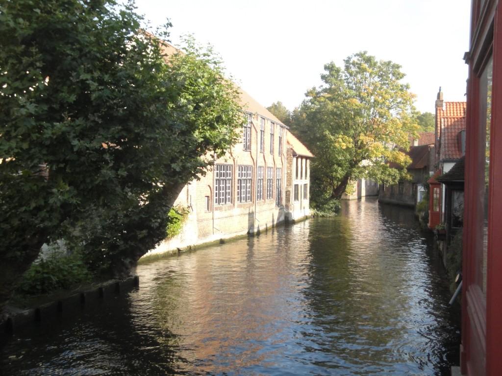 Les maisons à fleur de canaux