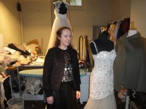 Peut-être la future créatrice de votre robe de mariée ??