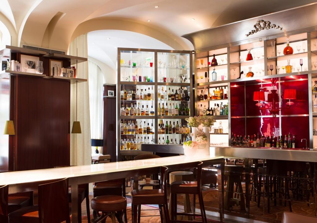 Le bar du Royal Monceau Raffles