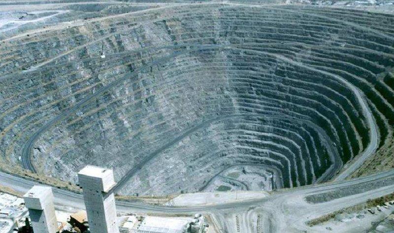 Mine en Afrique du Sud