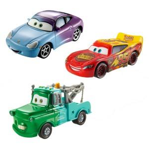 Des voitures qui changent de couleur au contact de l'eau