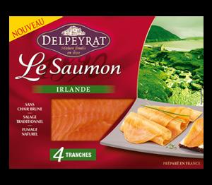 Le saumon fumé Delpeyrat