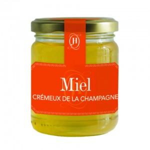 Le beau miel crémeux de Champagne vendu chez Jours Heureux