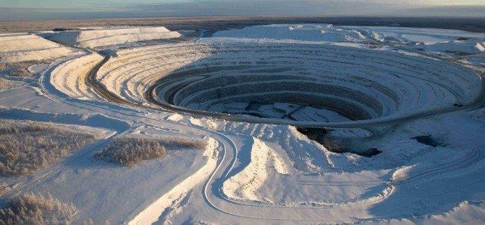 Une mine en Russie, le 1er producteur