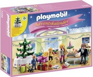 Calendrier pour fillettes Playmobil