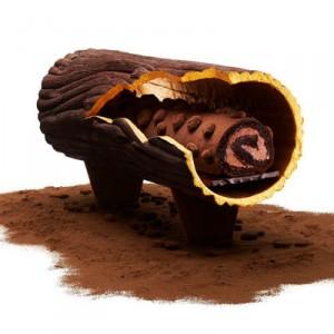 Une pièce infiniment chocolatée chez Pierre Hermé