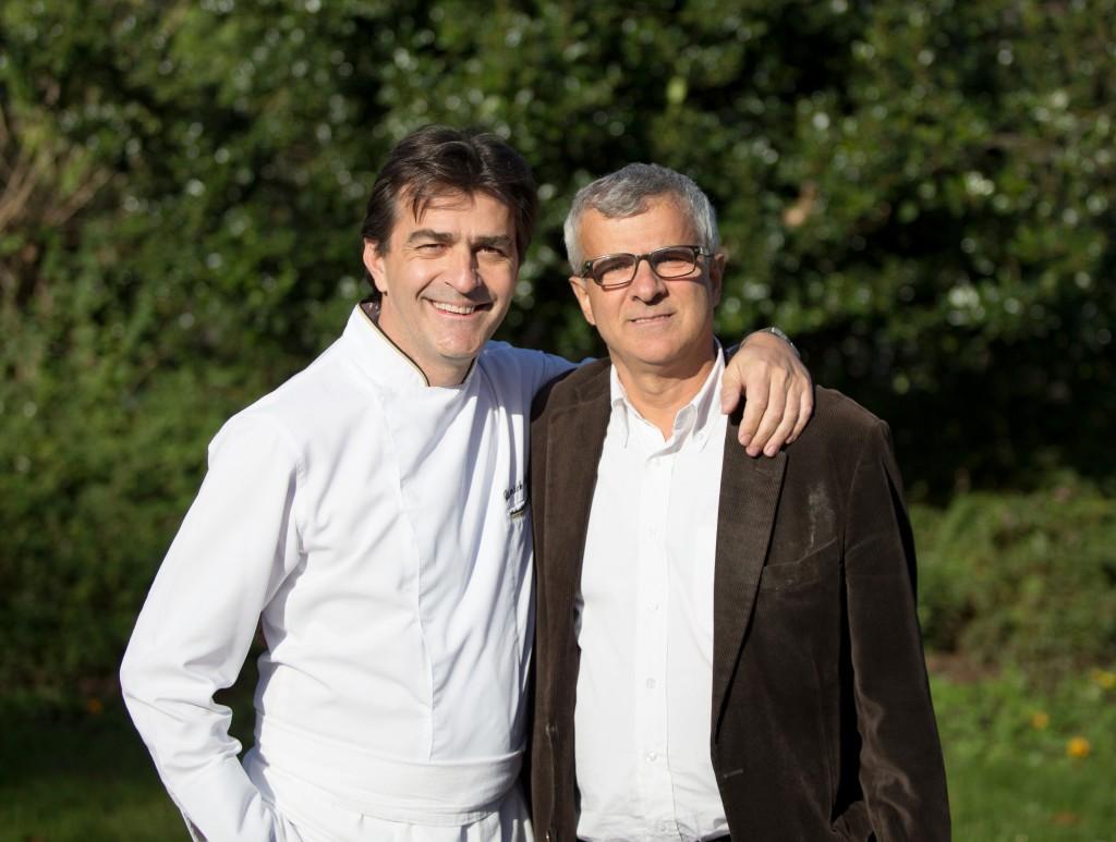 Yannick Alleno et Jean François Hesse