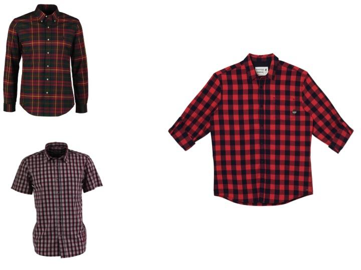 Chemises à carreaux de Ralph Lauren pour Zalando, Armor Lux et Bonobo Jeans