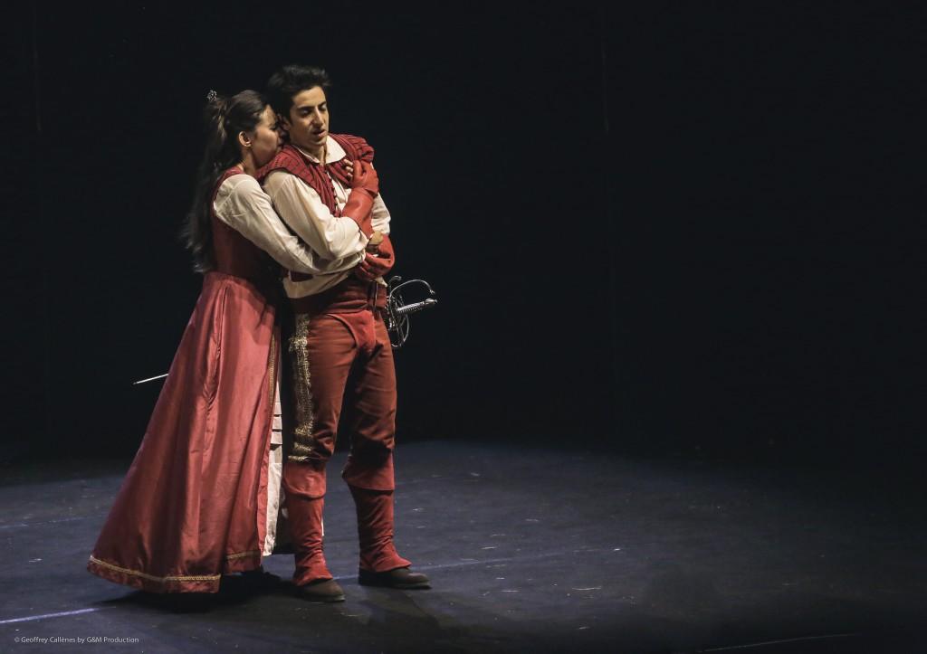 Rodrigue et Chimène partagés entre amour et vengeance