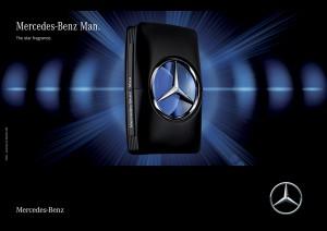 S'il aime les voitures, il aimera le parfum Mercedes-Benz