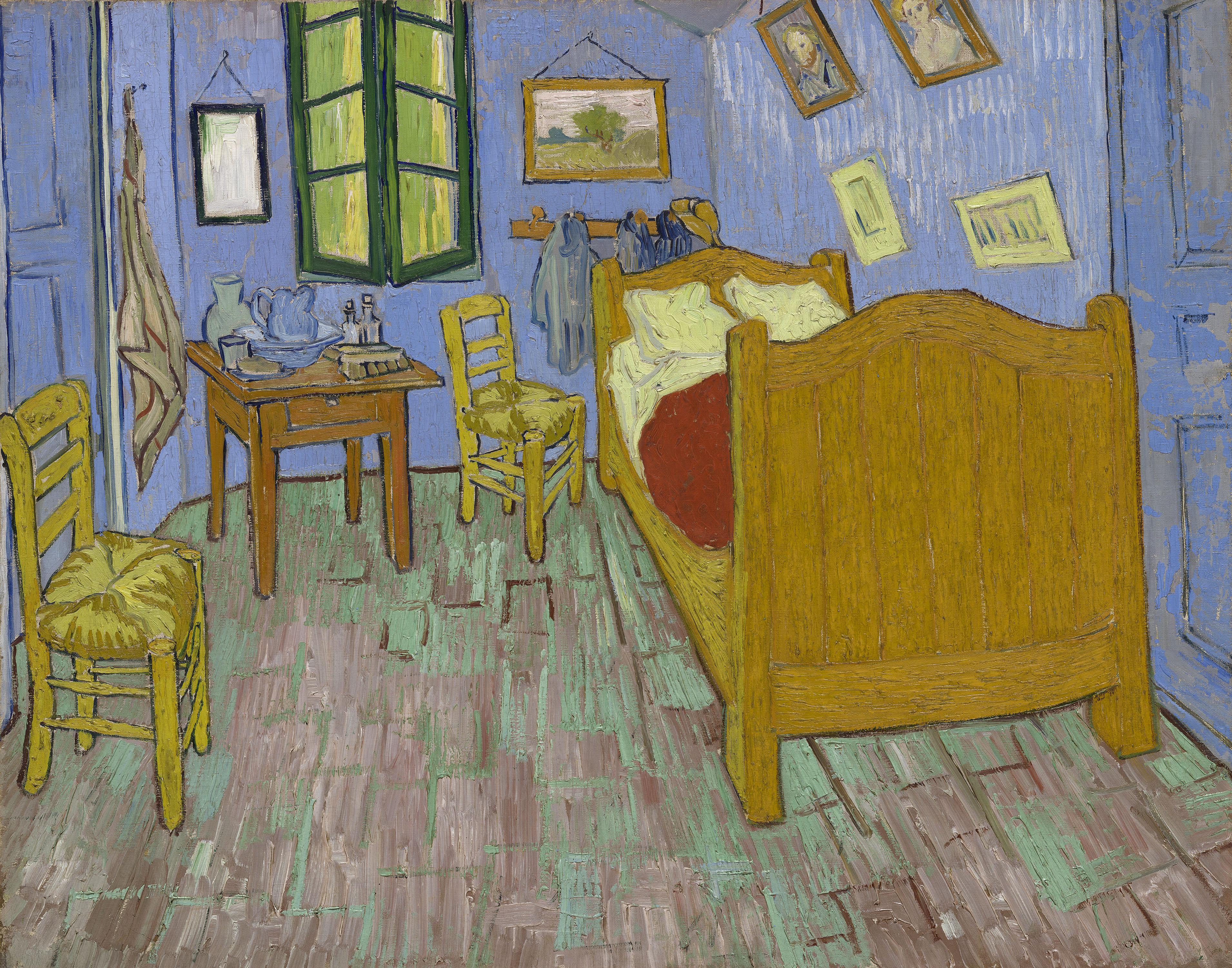 La chambre à coucher de Van Gogh