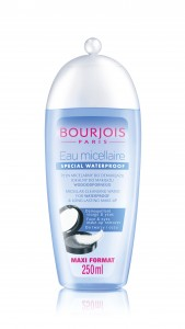 L'eau micellaire waterproof de Bourjois