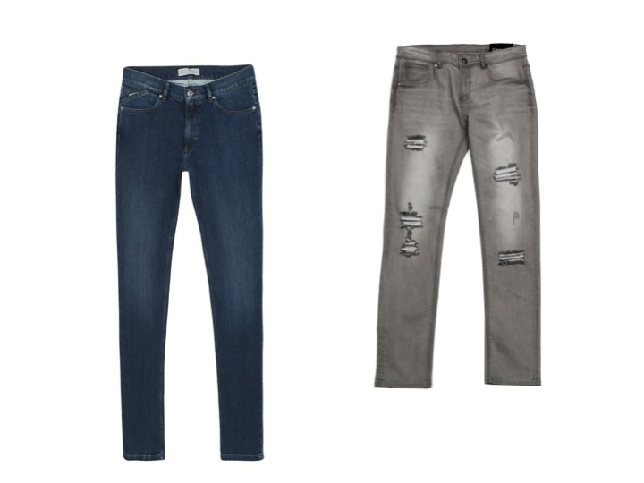 Jeans slim de Bruno St Hilaire et Best Mountain