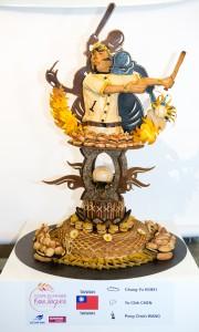 Le trophée des Taiwanais