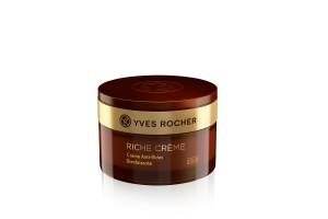 La Crème Riche, un produit iconique d'Yves rocher