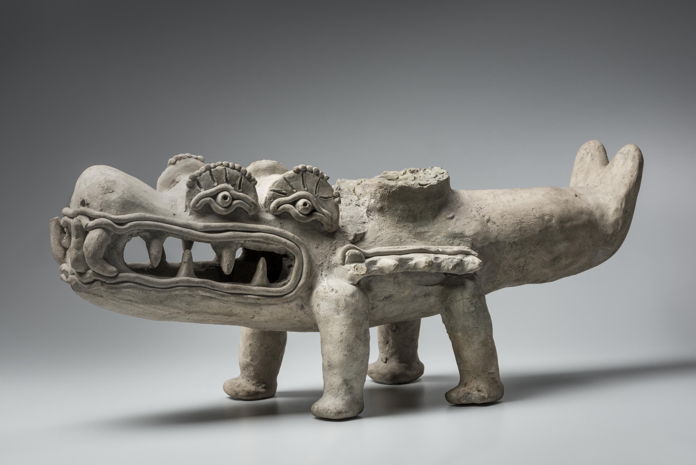 Caïman mythique avec quatre yeux (Hirtz)