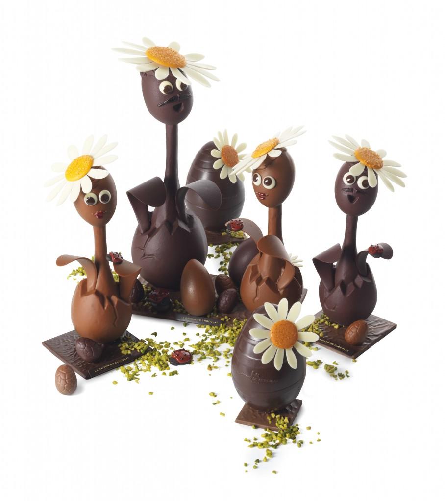 Les pâquerettes de La Maison du Chocolat