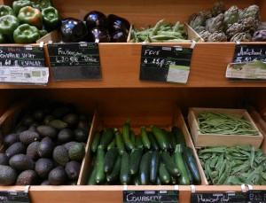 Rayon frais aussi pour les légumes