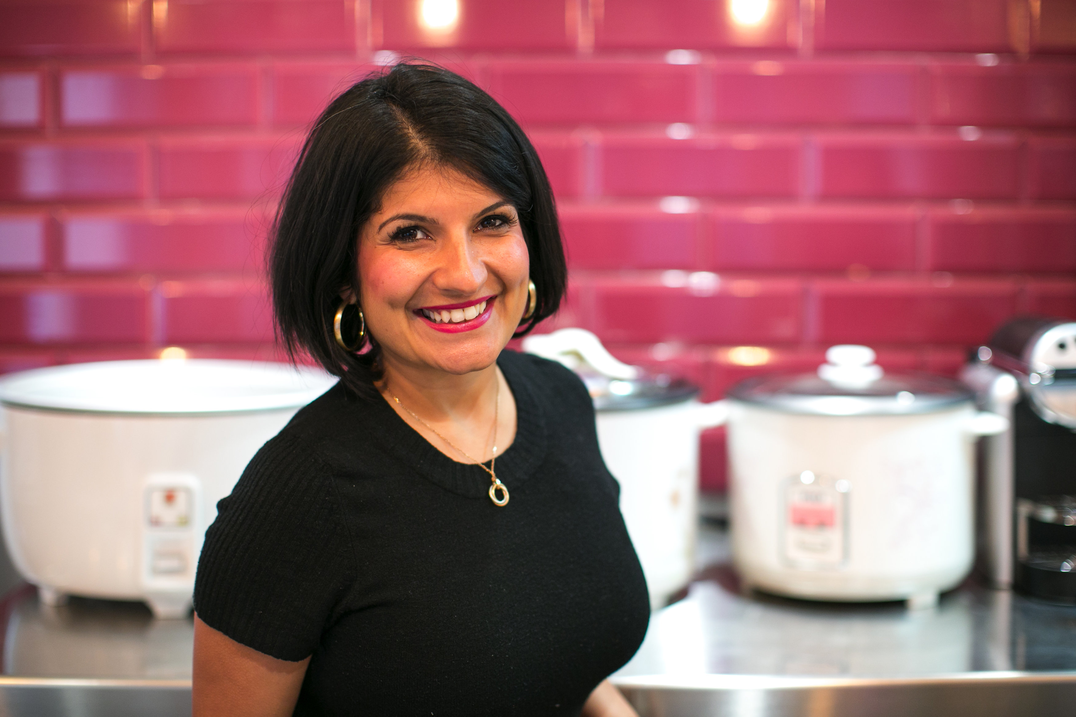 Vanessa Goulanhoussen, la fondatrice de Delhibox