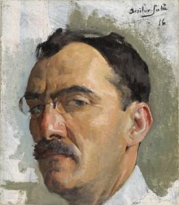 Autoportrait aux binocles (1916)